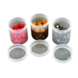 Fox - Bait Tubs Full Size Clear x 6