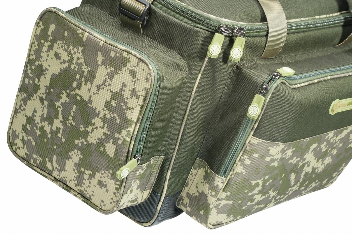 5e1df2cd092 MIVARDI - Torba CamoCODE Medium - Baitbox.pl
