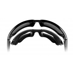 Wiley X - TITAN Polarized Smoke Grey lens/ Gloss Black frame