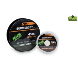 Fox- Submerge Lead Free Leader Gravelly Brown 45 lb 10 m
